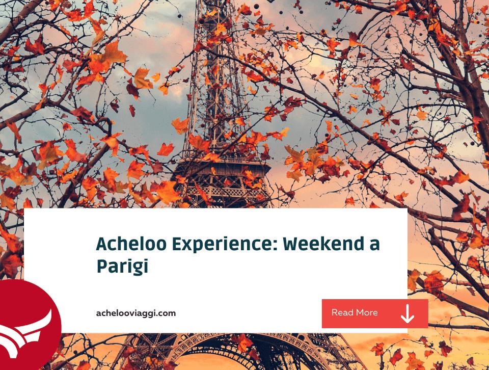 Blog: Parigi