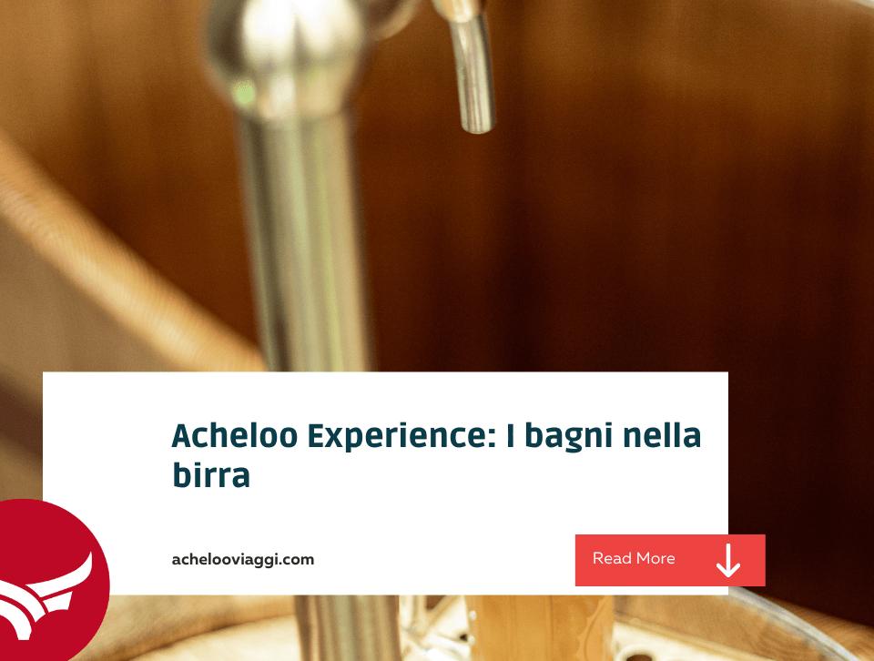 Blog: Bagni nella birra